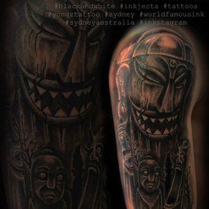 Artist: Austin Instagram:Austinzfoo #tattoo #sydneytattoo #yongztatoo #austinzfoo #tattoos #inkstagram #ink #blackandwhite #sydneyaustralia