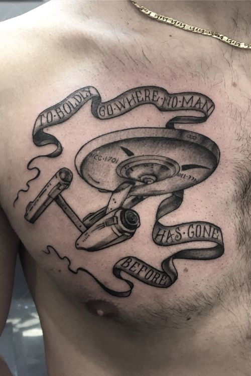 #startrek #enterprise #blackandgrey #movie #tattoos #yamatattoostudio #roma #akuma #tattoodo