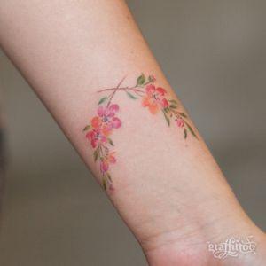 cherry blossom :) #cherryblossom #watercolor #flower