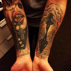 #arm_tattoo #tattoo #MyTattoo #mytattoocollection
