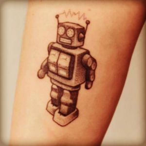 I would love two fun little robots for my two little boys!! 🤖❤️🤖 #megandreamtattoo