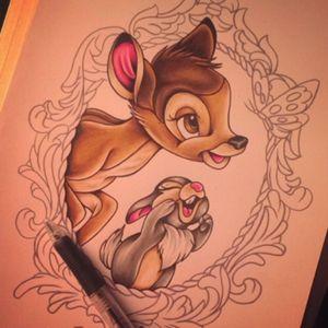 Bambi & Thumper #Disney #Bambi