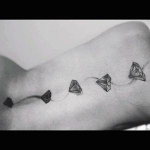 #diamond#diamondtattoo#firsttattoo