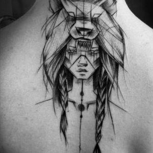 Lil warrior #indian #americanindian #bear