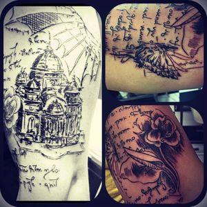 Koi tattoo ink #LeonardodaVinci #linework #Line #davincitattoonyc #davinci