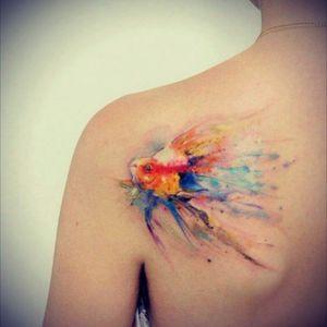 #fish 🐠#watercolor