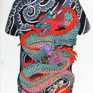 This is the rendering of the piece im getting tattooed on my back