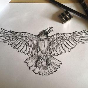 #crow #stencil