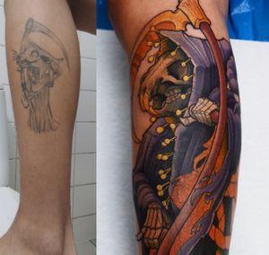 Coverup! #tattoodoambassador #terrypratchett #coverup