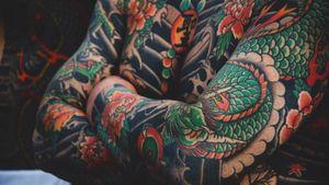 Instagram - @romanbolozan #tattooartist #tattooart #tattoostyle #tattoomodel