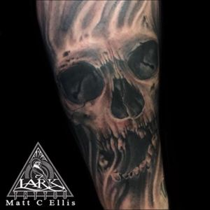 Tattoo by Lark Tattoo artist Matt C Ellis #blackandgraytattoo #blackandgray #bng #bngtattoo #skul #skulltattoo #tat #tats #tatts #tatted #tattoo #tattoos #tattoo #tattoos #tat #tats #tatts #tatted #tattedup #tattoist #tattooed #tattoooftheday #inked #inkedup #ink #tattoooftheday #amazingink #bodyart #tattooig #tattoososinstagram #instatats #westbury #larktattoowestbury #larktattoo #larktattoos