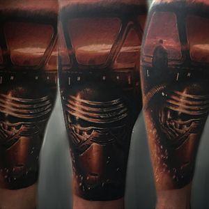 #starwarstattoo #KyloRen #tattoo #hungary #leventevacsi #cheyenne #worldfamousink #guestspot #hungariantattoo