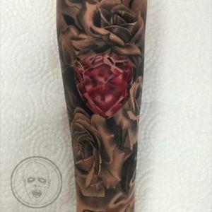rose!' #opusmagnumwien #tattoo #vienna #tattooartist