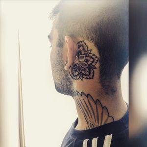 Mandala behind ear #tattoo #tattoos #tat #ink #inked #TagsForLikes #TFLers #tattooed #tattoist #coverup #art #design #instaart #instagood #sleevetattoo #handtattoo #chesttattoo #photooftheday #tatted #instatattoo #bodyart #tatts #tats #amazingink #tattedup #inkedup
