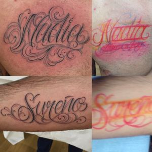 #lettering #customtattoos #chicano #freehand