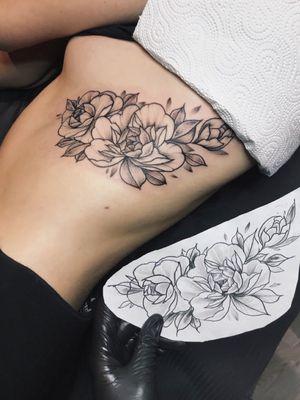 #peonies #tattoooftheday