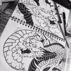 #tattoodragon #dragon #followtattooartist #flowerme #likeforlike