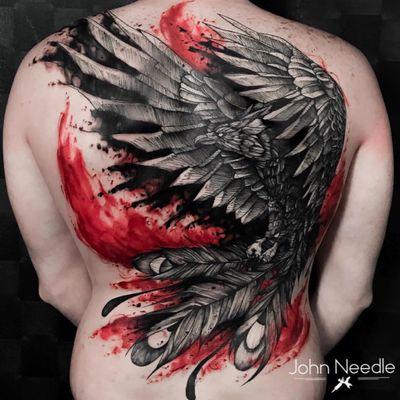 John Needle 🇧🇷 #fenix #phoenix #asas #wings #mitologia #mithology #tatuadoresdobrasil