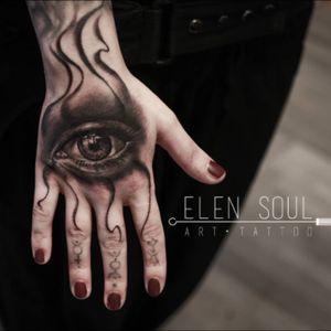 🎨✍🏻 #eye #tattoo #elensoul