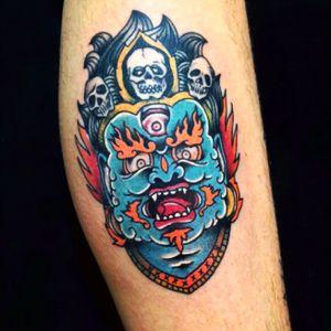 Mahakala tattoo