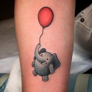 Fat lil elephant