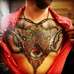 #chestpiece #ram