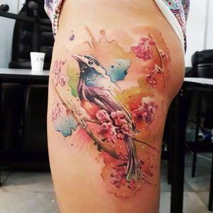 #hiptattoo#bird