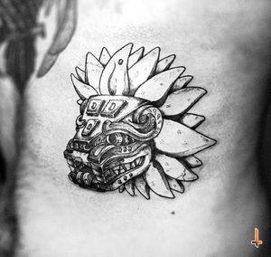 "Nº542 ""Feathered Serpent"" #tattoo #tattooed #boyswithtattoos #ink #inked #ribtattoo #quetzalcoatl #quetzalcoatltattoo #feather #serpent #featheredserpent #god #aztec #aztecgod #mesoamerican #nahuatl #teotihuacan #madeinmexico #mexican #mexicantattoo #cheyennetattoo #cheyennetattooequipment #dynamicink #dynamiccolor #stencilstuff #soulfower #soulflowercartridges #blackwork #blacktattoo #bylazlodasilva Designed by another artist"