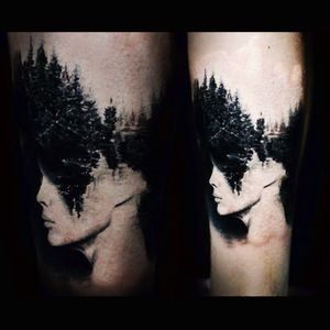 Damn! This guy is awesome! #nature #trees #portrait #art