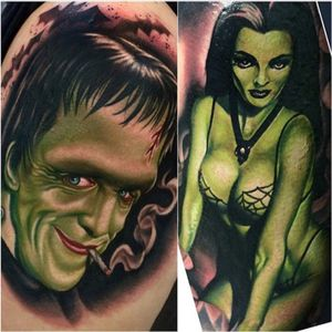 Halloween is coming up!!Show us your spooky tattoos and tag them #halloween