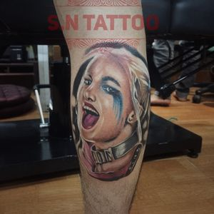 S.N Tattoo Harley quinn