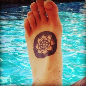 #Dharma #buddha #buddhainspiredtattoos #lotus