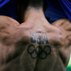 USA Olympic Tattoo #usa #OlympicRings