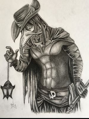 #pencil #plaguedoctor