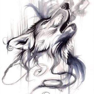 #wolftatoo #InkTattoo
