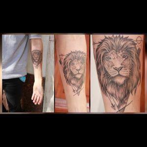 #lion #dotwork