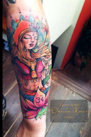 Tattoo by Dani Alfonso Art