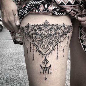 Sternum tattoo by mandala #BonBon_saigonink #blackwork #blackworkers #blackworkerssubmission #blacktattoo #blacktattooart #blacktattooing #mandala #mandalatattoo #theinkmasters #the_inkmasters #theartisthemotive #thebestspaintattooartists #darkartist #blxckink #dotwork #linework #inksav #inkedmag #tattoo#tattooart #tattooartist #tattoooftheday #tattoolife #tattoodo#tattoogirl #onlyblackart #flowers #flowertattoo#skinartmag
