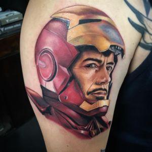 Tony Stark booking May #rubenbarahona #gritnglory