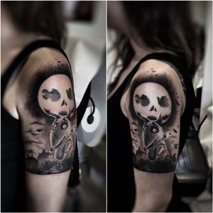 #tattoo #ink #realistic #powertattoo #Tattoodo #timburton