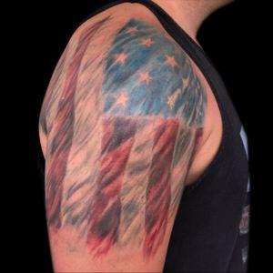 Tattoo by PeeWee Sinerco. #peewee #peeweesinerco #sinerco #tattoo #usa #usatattoo #america #americatattoo #flagtattoo #tattoos #tat #tats #tatts #tatted #tattedup #tattoist #tattooed #tattoooftheday #inked #inkedup #ink #tattoooftheday #amazingink #bodyart #tattooig #tattoosofinstagram #instatats#larktattoo #larktattoos #larktattoowestbury #westbury #longisland #NY #NewYork