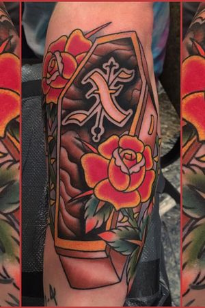 Did this the other day at the Imperial Tattoo and Arts Festival in Jacksonville Florida. It was a great time. Thanks Ben. STRAIGHTEDGE!!!