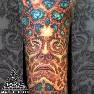 Tattoo by Lark Tattoo artist Matt C. Ellis. #alexgrey #alexgreytattoo #tattoo #tattoos #tat #tats #tatts #tatted #tattedup #tattoist #tattooed #tattoooftheday #inked #inkedup #ink #tattoooftheday #amazingink #bodyart #tattooig #tattoosofinstagram #instatats  #larktattoo #larktattoos #larktattoowestbury #westbury #longisland #NY #NewYork