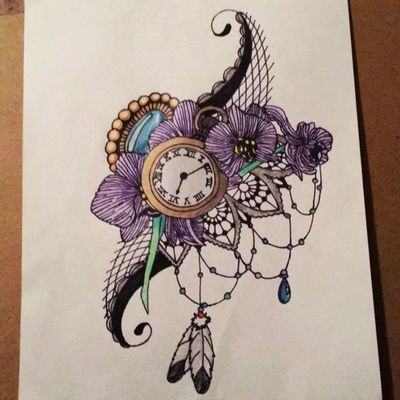 #Jewel #orchids #time #feminine #lace