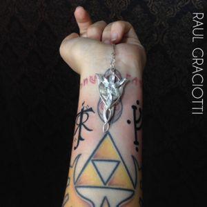 Tolkien and Gandalf rune!!! #tolkien #lordoftherings #tattoo #evenstar #tolkientattoo #gandalf #gandalftattoo #ink #campinas #brasil