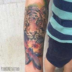 #tigertattoo #tattoo #tattoos #tattooitalia #ink #lototattoo #realistictattoo #pirr #sicily