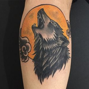 #wolf #tattoosbyrodrigocanteras #tattoodo