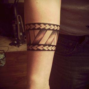 My forst tatto #tribal #armband