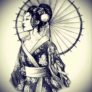 Or maybe this beautiful geisha #megandreamtattoo