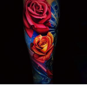 Artist #jamieSchene#flowers #roses #sleeve